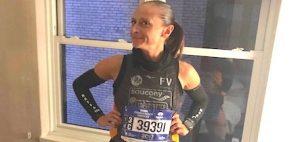 La ravennate Raffaella Catani si prepara a correre la Maratona di New York