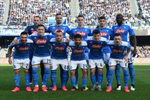 La Squadra del Napoli SSC dal sito www.napolissc.it